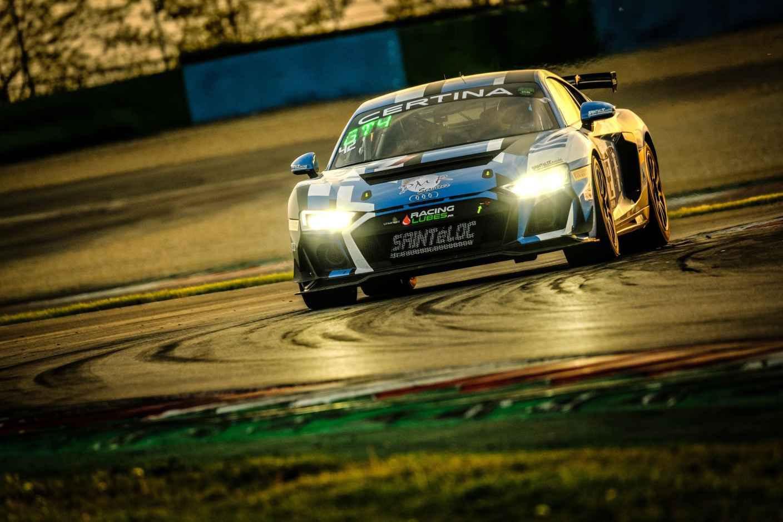 GT4 France 2021 Audi R8 LMS GT4 # 42 (Saintéloc Racing), Fabien Michal / Gregory Guilvert