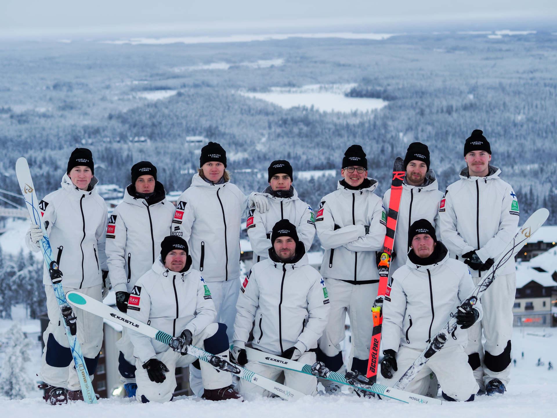 No ski imitations and no training stops