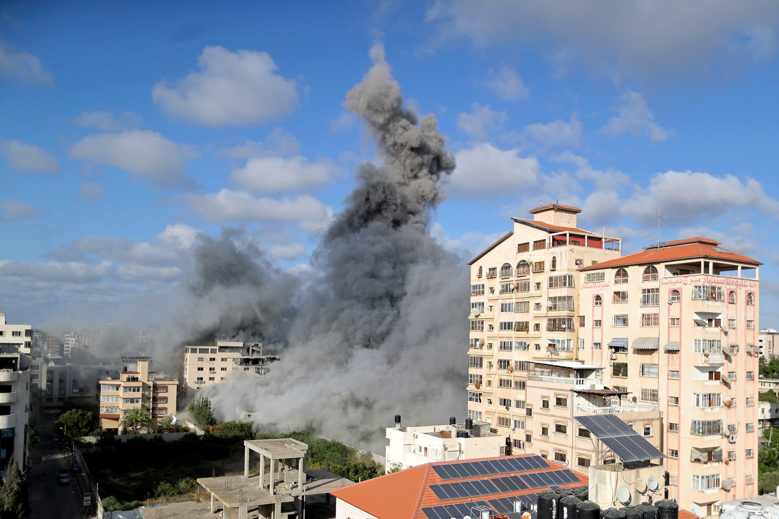 Israeli bombing of Gaza (Reuters)