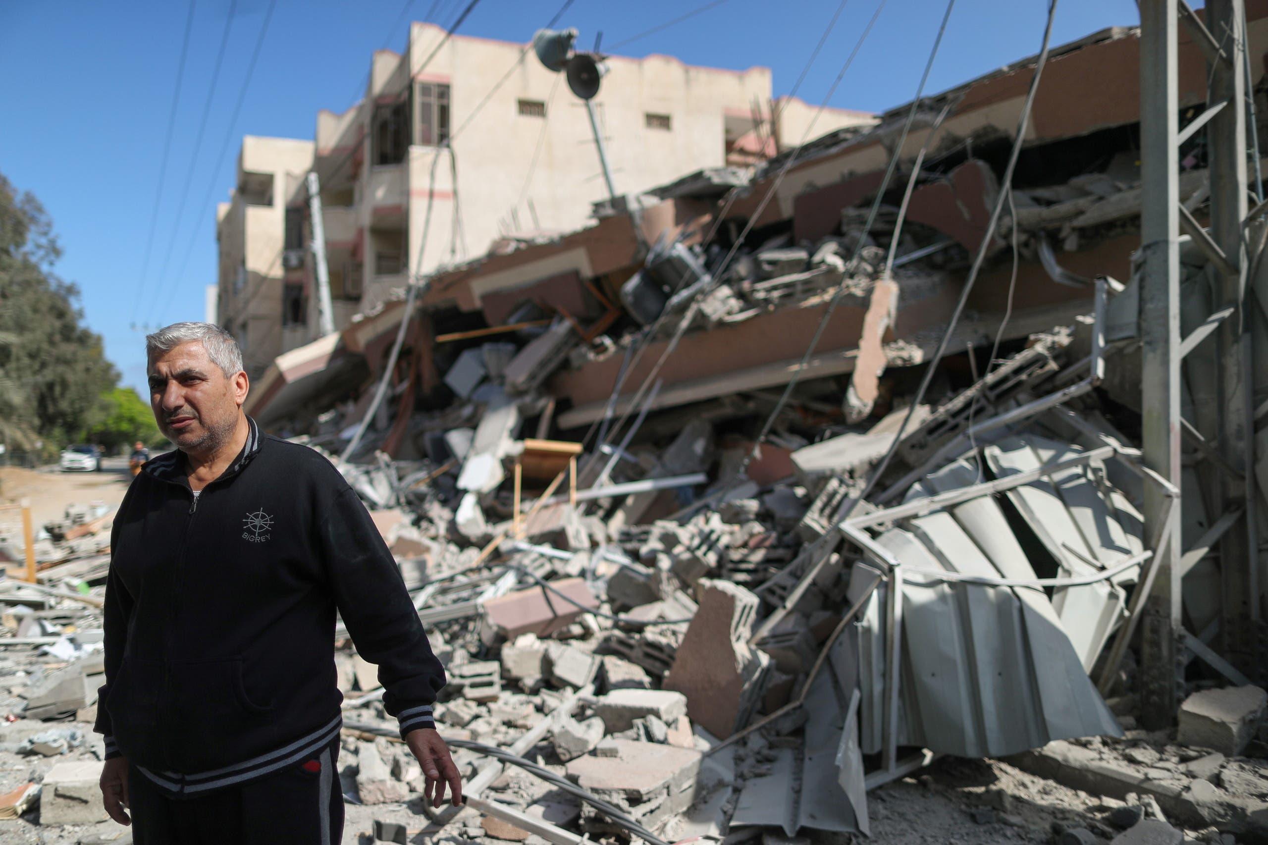 Destruction and rubble in Gaza (Reuters)
