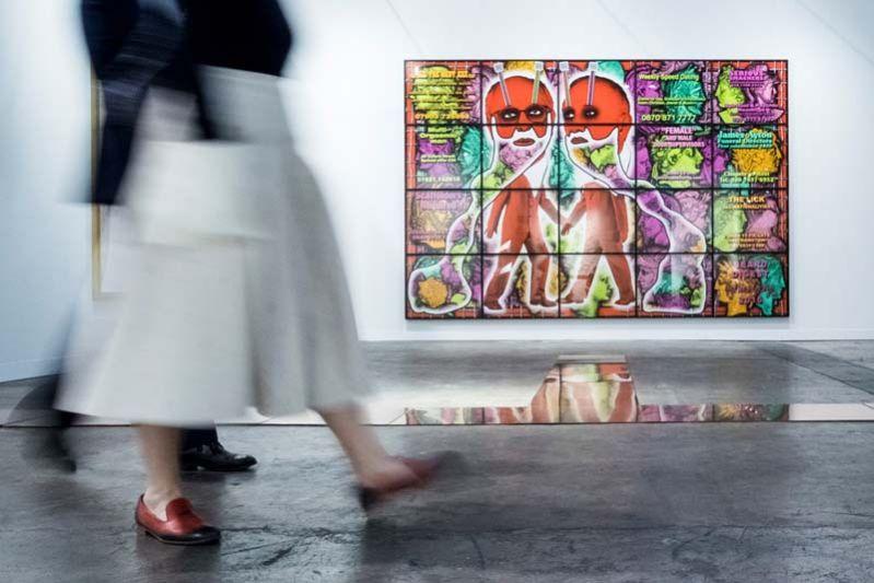 "#Tip Chuan Chom 10 Thip Art Exhibition through ""Arts in Hong Kong"" campaign"