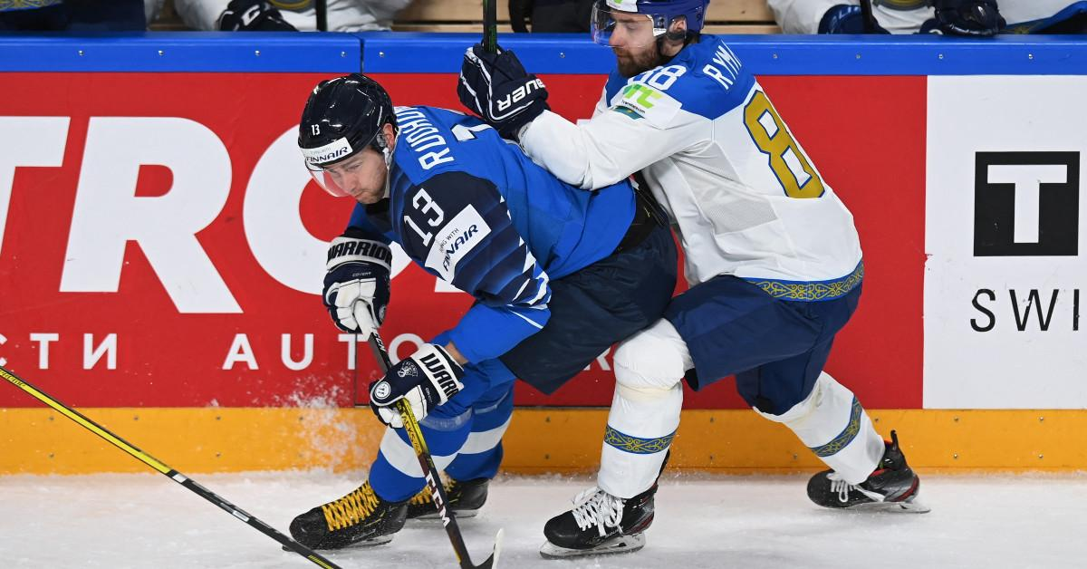 Kazakhstan defeated Finnish defender NSO with a shot