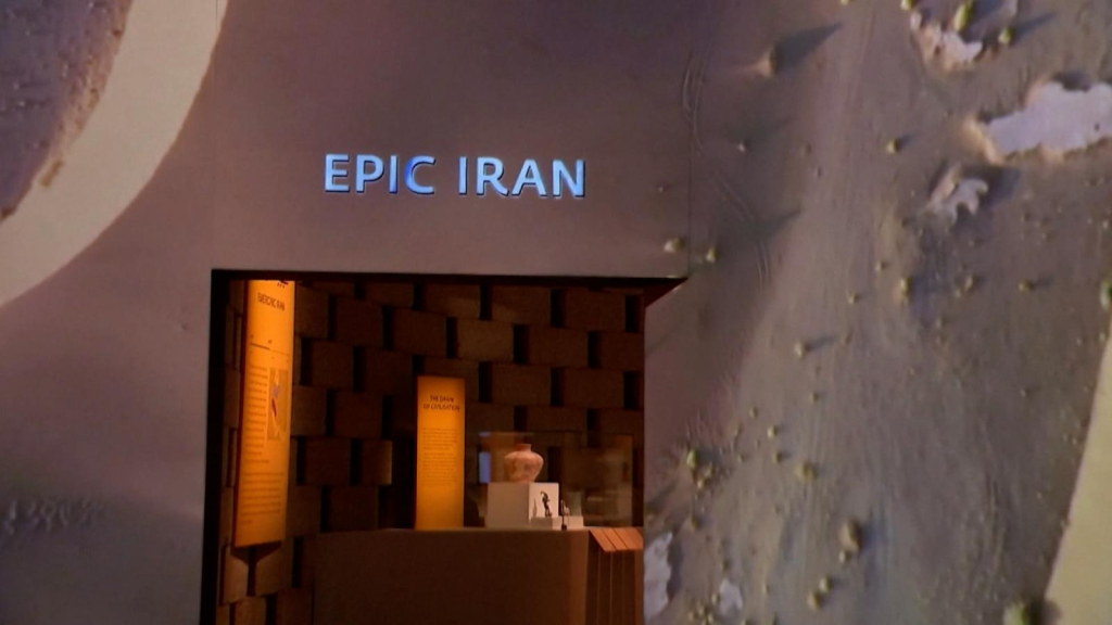An exhibition celebrating Iranian culture