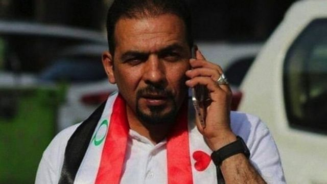 Iraqi activist Ihab Al-Wazni