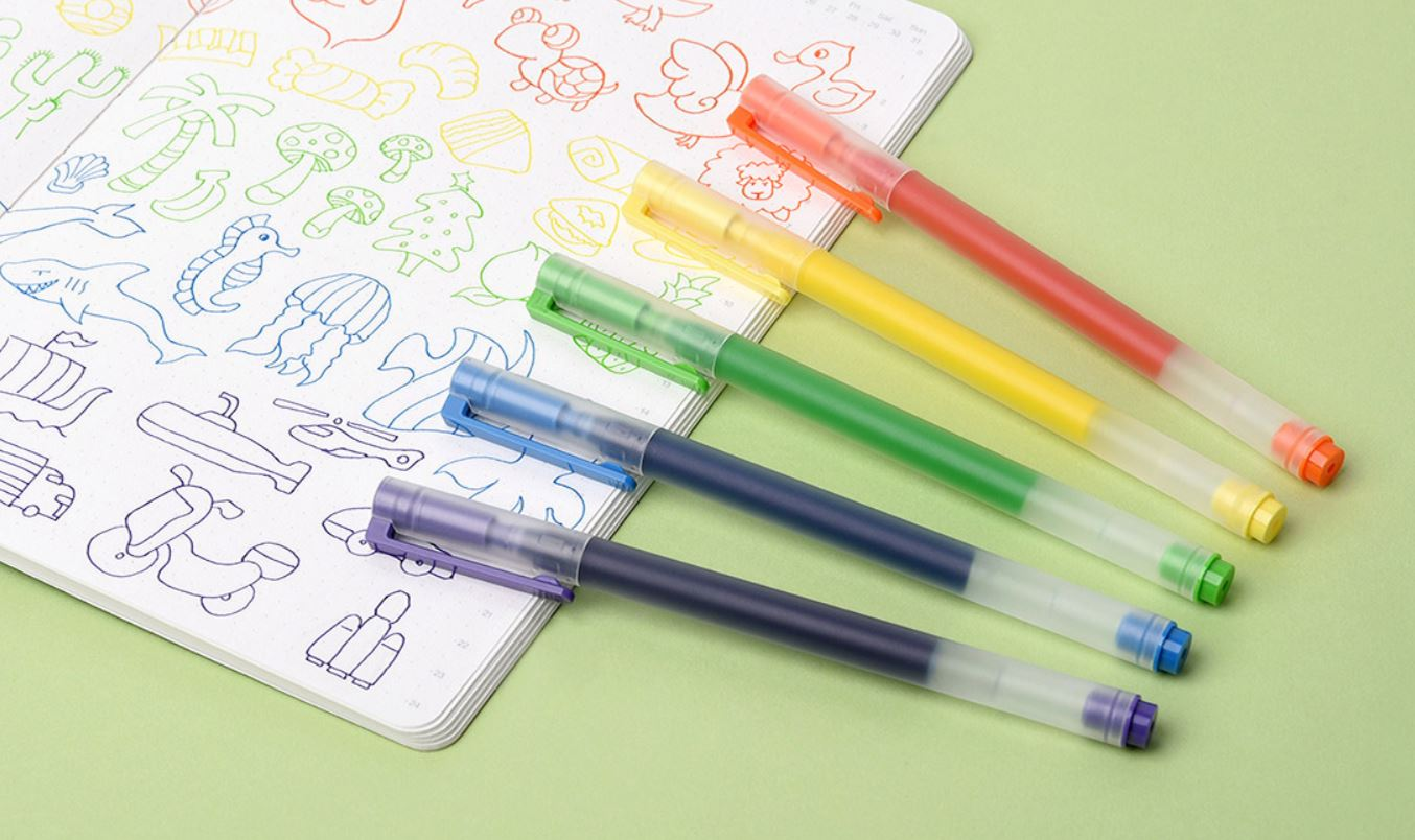 These colored pencils by Xiaomi promise to last longer than you can imagine.  Xiaomi news addicts