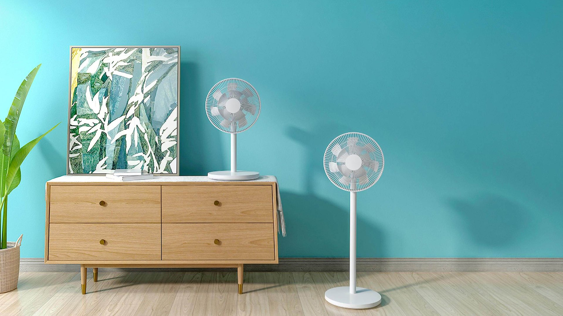 Summer is coming, let yourself be tempted by the Xiaomi Mi Smart Standing Fan 2 connected at € 60