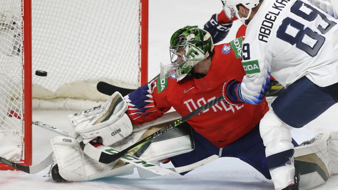 The United States wins the fourth grade in World Hockey and defeats Norway 2-1