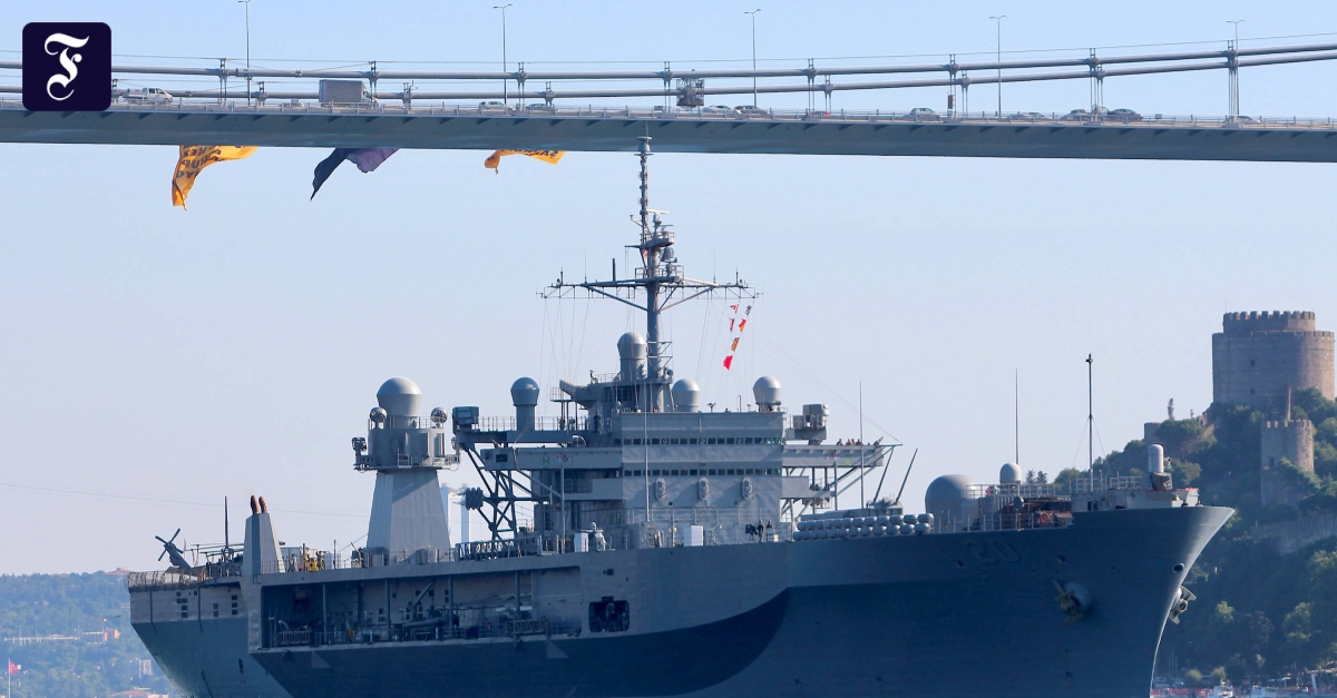 American warships do not enter the Black Sea