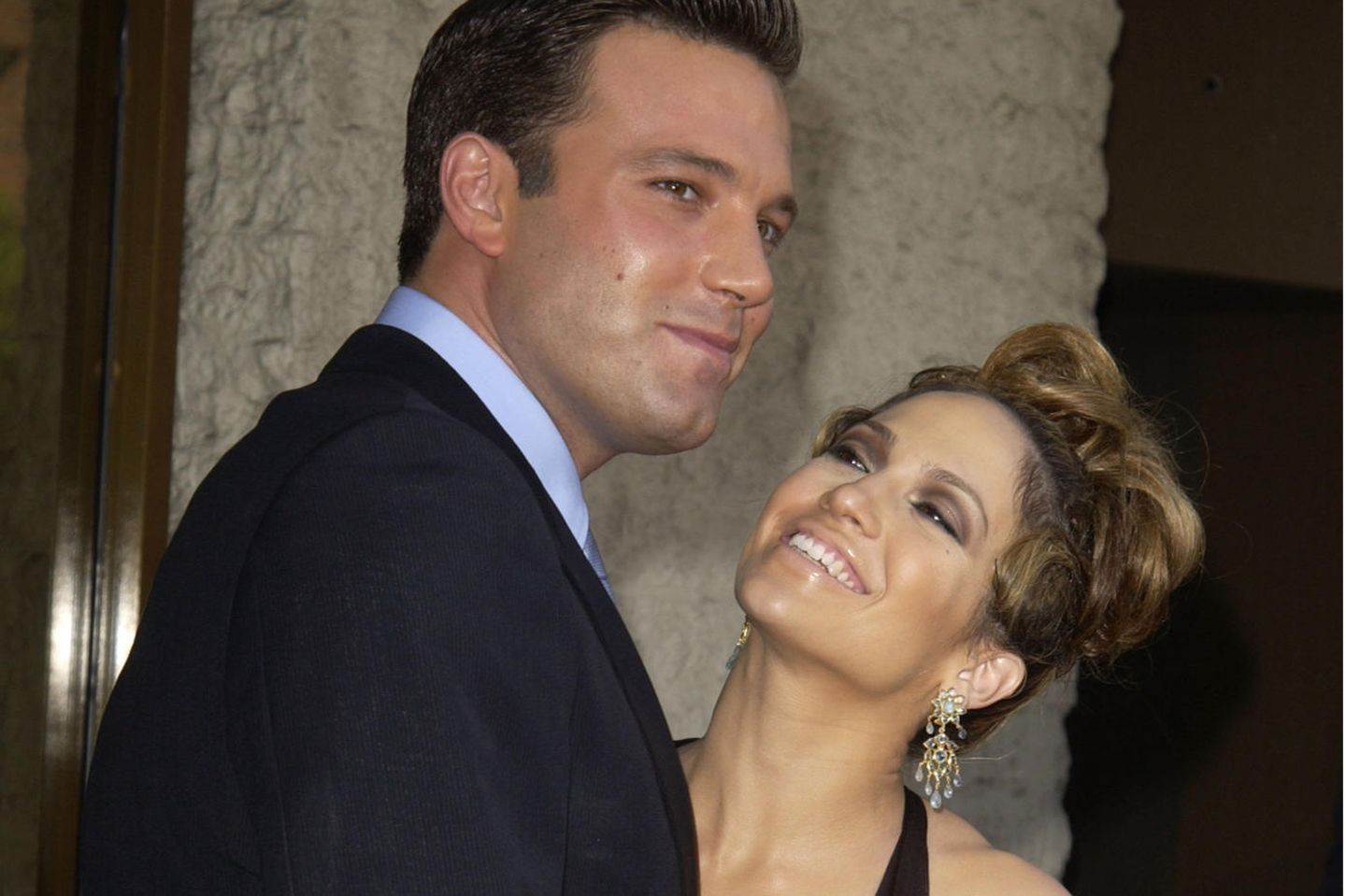 Ben Affleck and Jennifer Lopez are here in 2003.