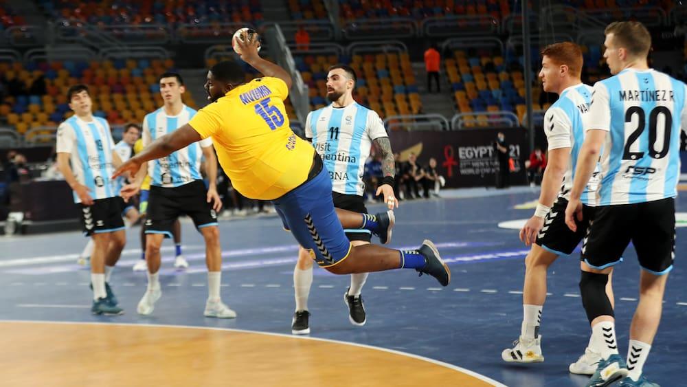 Cult Colossus Mvumbi has a new handball mission