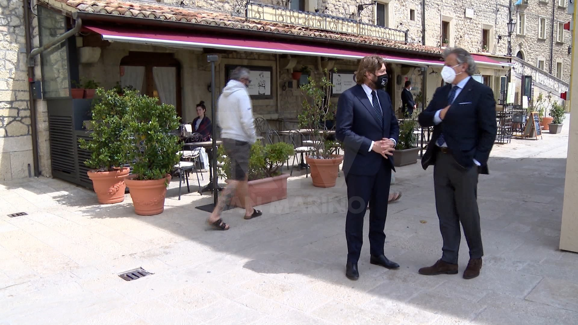 Federico Bidini Amate and Gianni Indino unite at a test event in San Marino