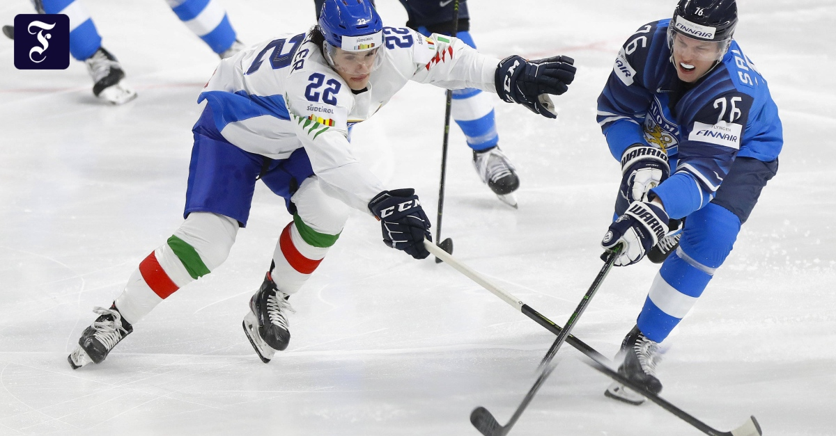 Finland beats Germany in the Ice Hockey World Cup