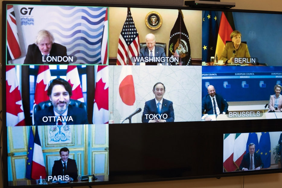 G7 outbreak and global challenge