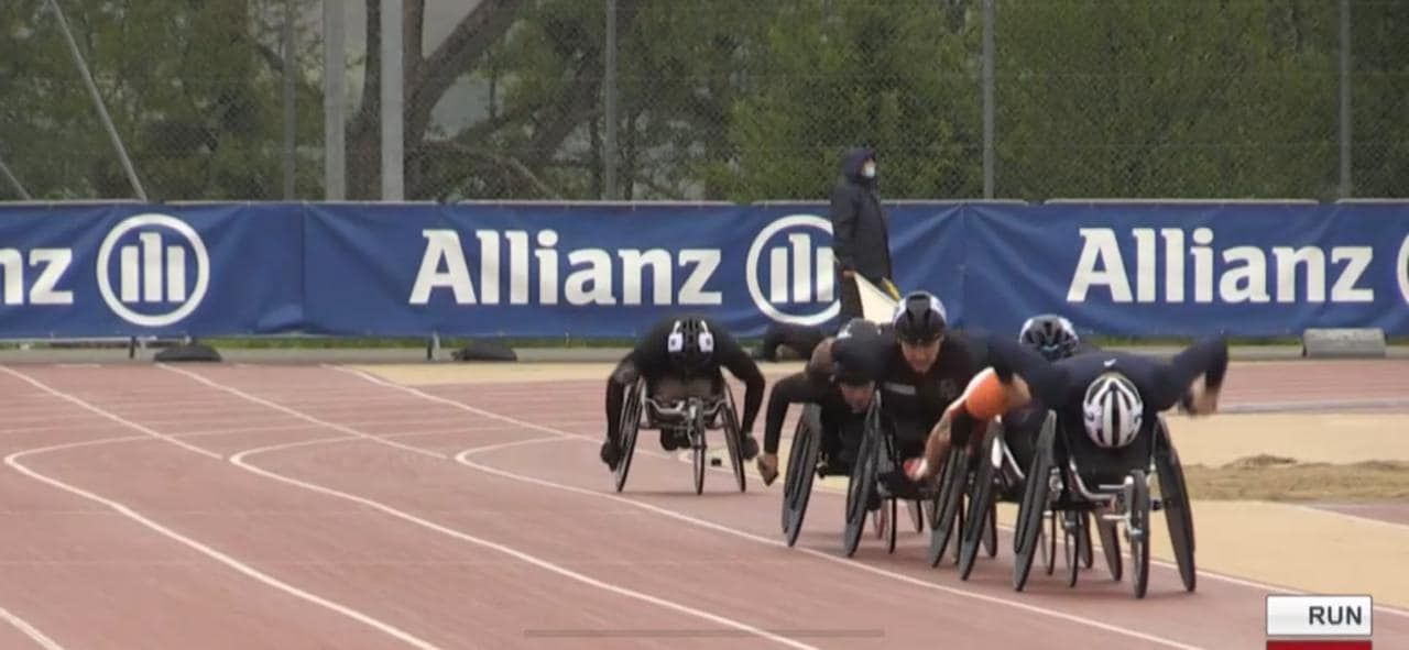Gabriel Sousa competes in Switzerland