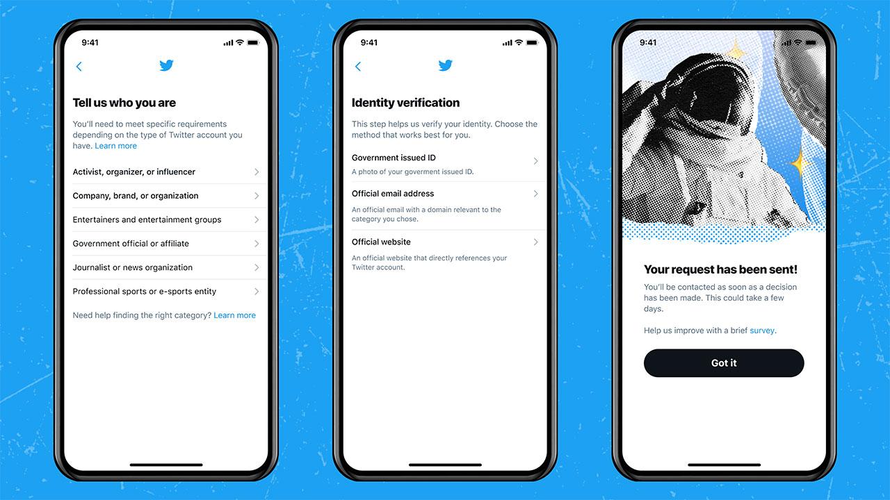Good news .. Twitter reactivates the account verification program – technology