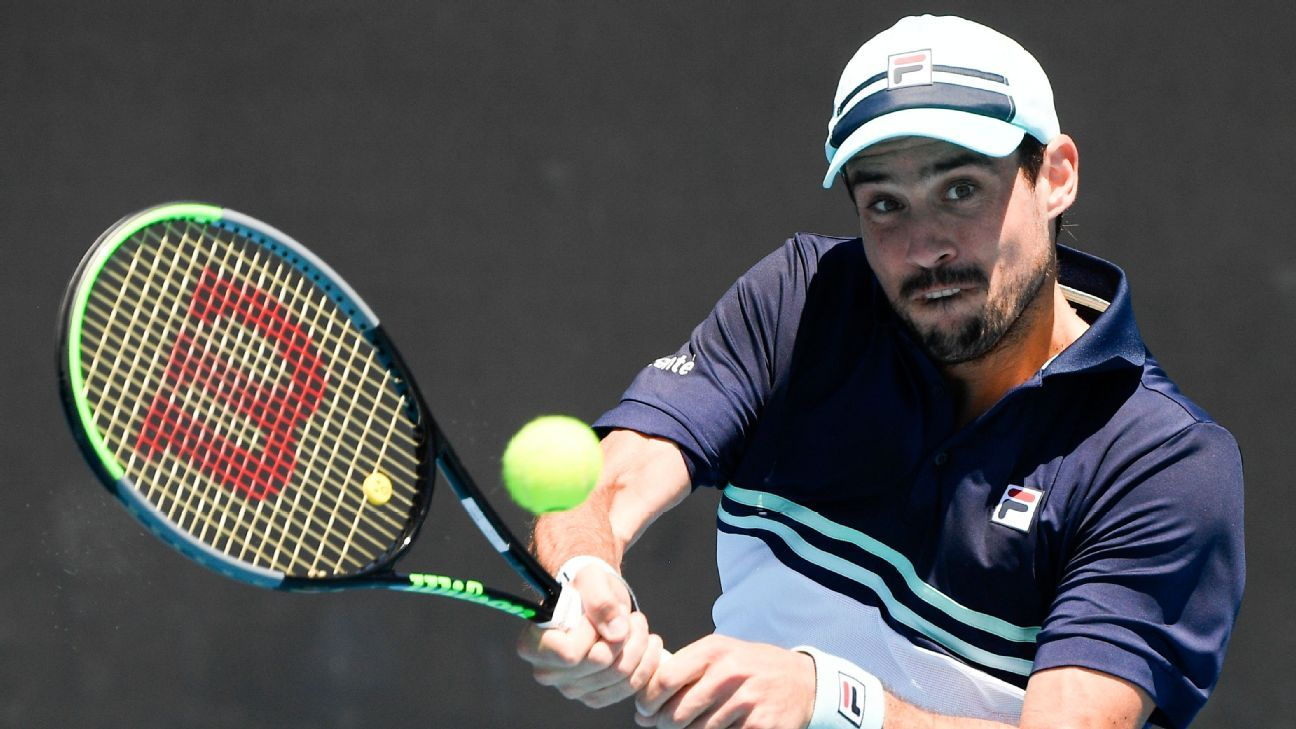 Hard defeat for Bella with Fognini in Switzerland