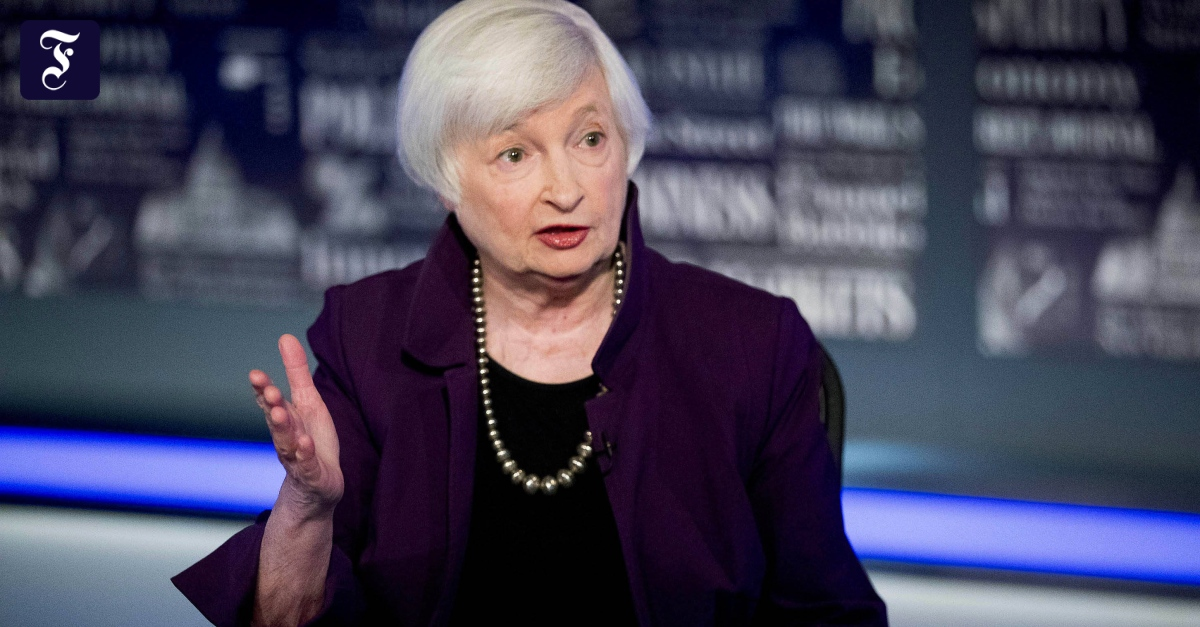 Janet Yellen promotes global minimum taxes on corporate profits