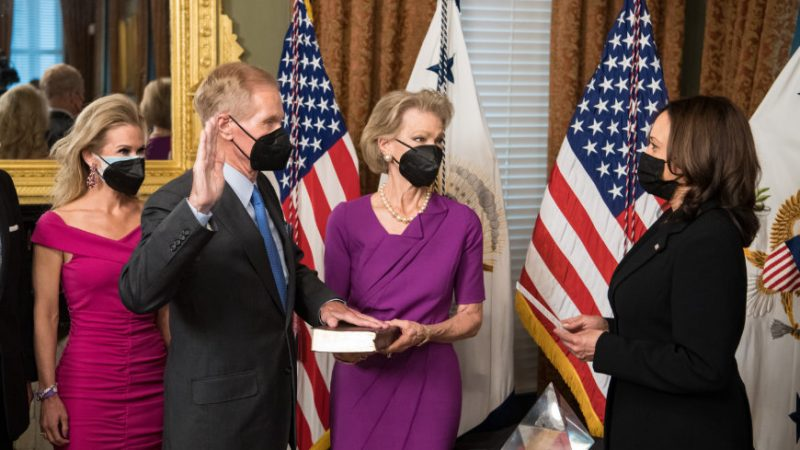 NASA: New NASA Administrator takes the oath