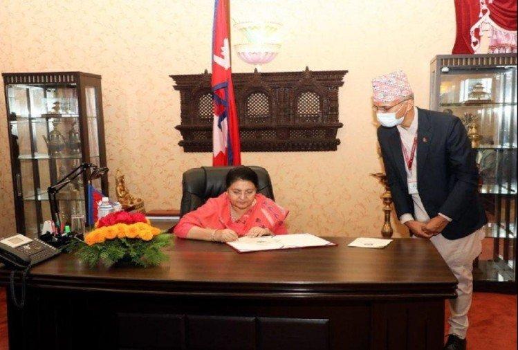 Nepalese President Bidya Devi Bhandari dissolves House of Representatives – Politics in Nepal: President dissolves parliament, announces midterm elections