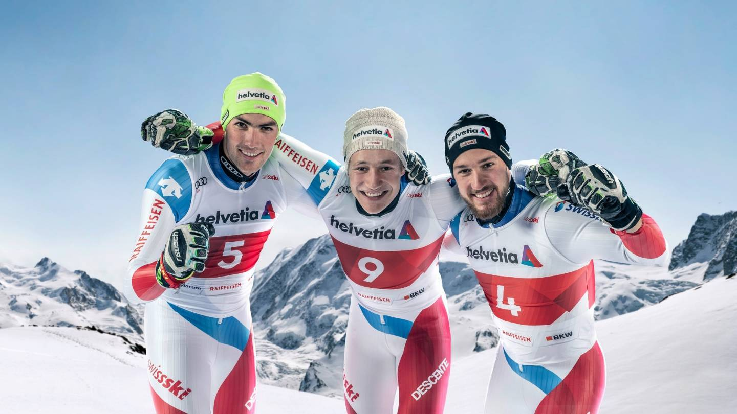 Official Swiss Alpine Ski Selection for the 2021-2022 season