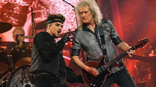 Queen with Adam Lambert double in Italy