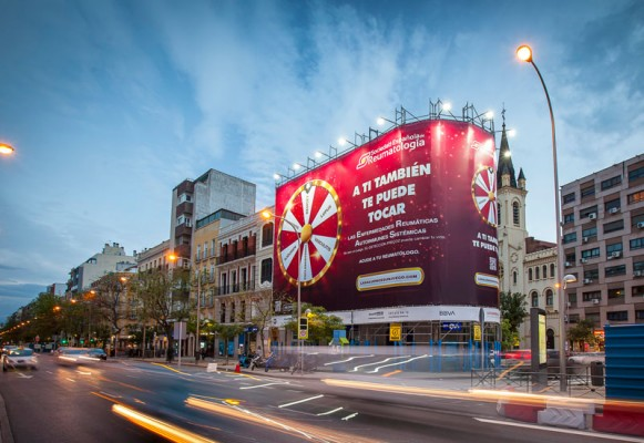 Roulette Spanish Society of Rheumatology is not a game, campaigns