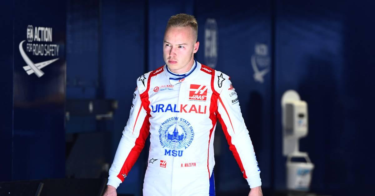 Schumacher's colleague Nikita Mazepin became increasingly unpopular