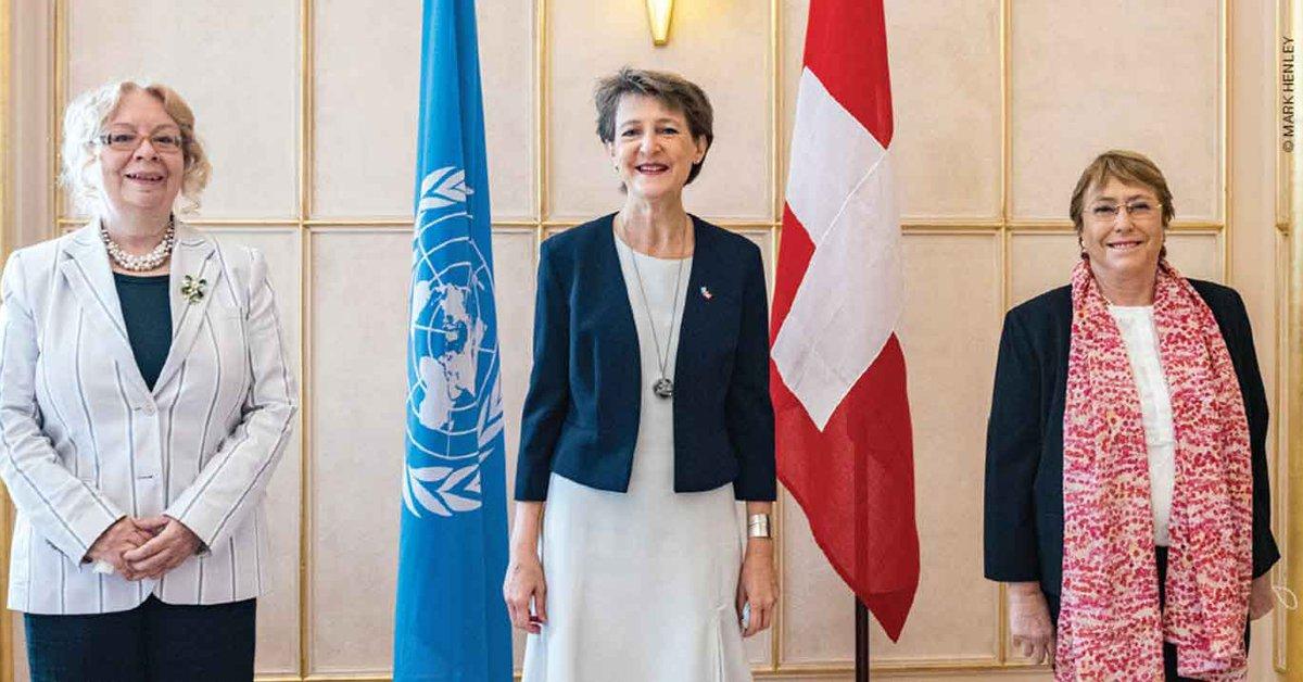Simonetta Sommaruga: Leading Switzerland through times of COVID-19