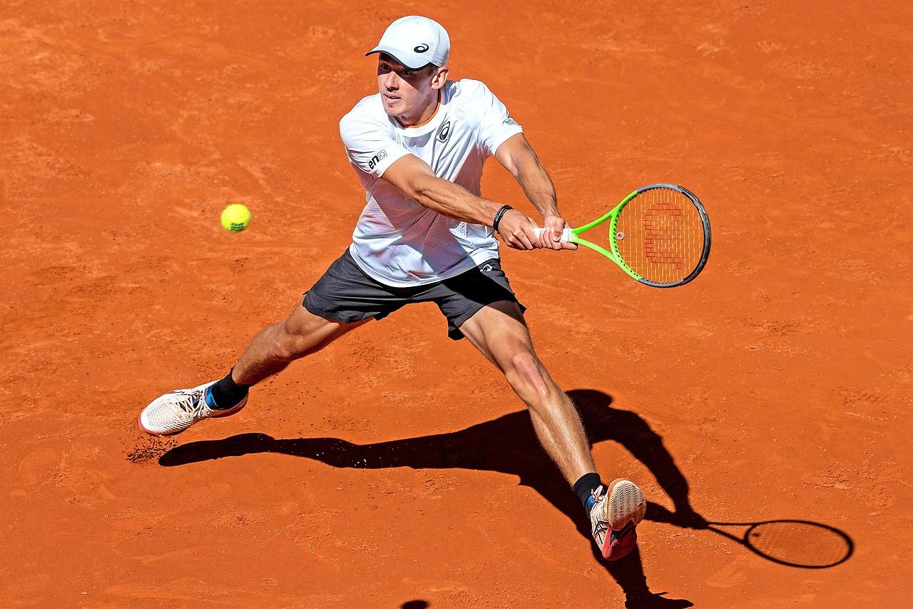 Australian tennis player Alex de Minor