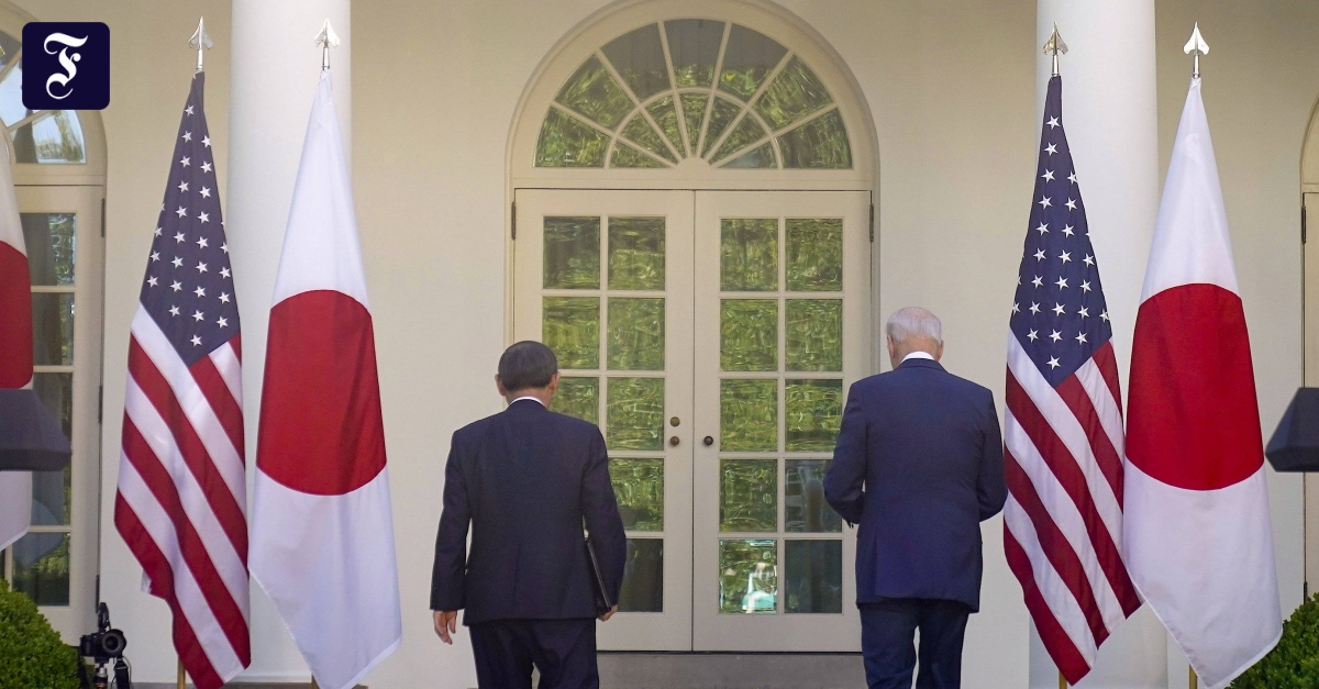 The United States renews the security guarantee for Japan