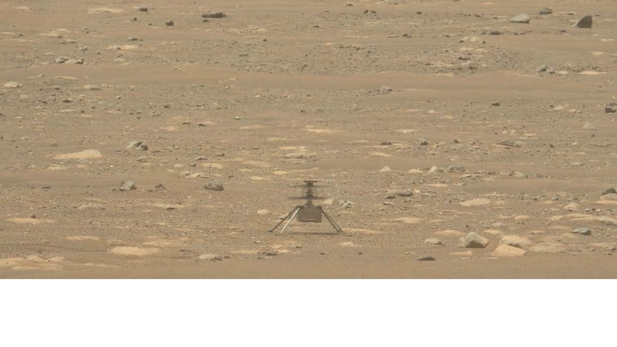 The helicopter on Mars made another flight, and NASA released an audio recording