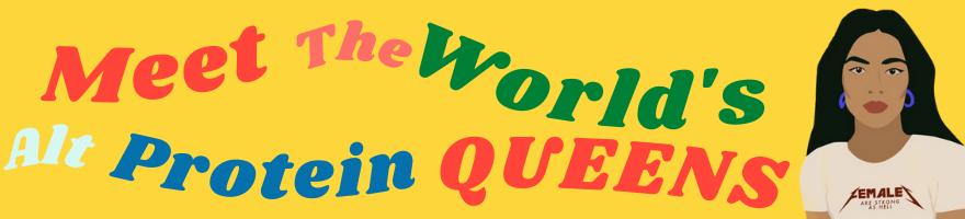 Queen's of Protein Alternative Banner