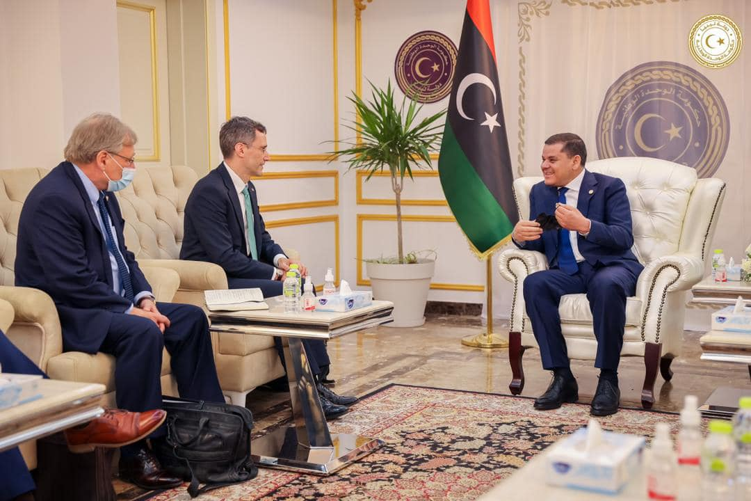 US Deputy Secretary of State in Tripoli.  Washington is also thinking about Libya