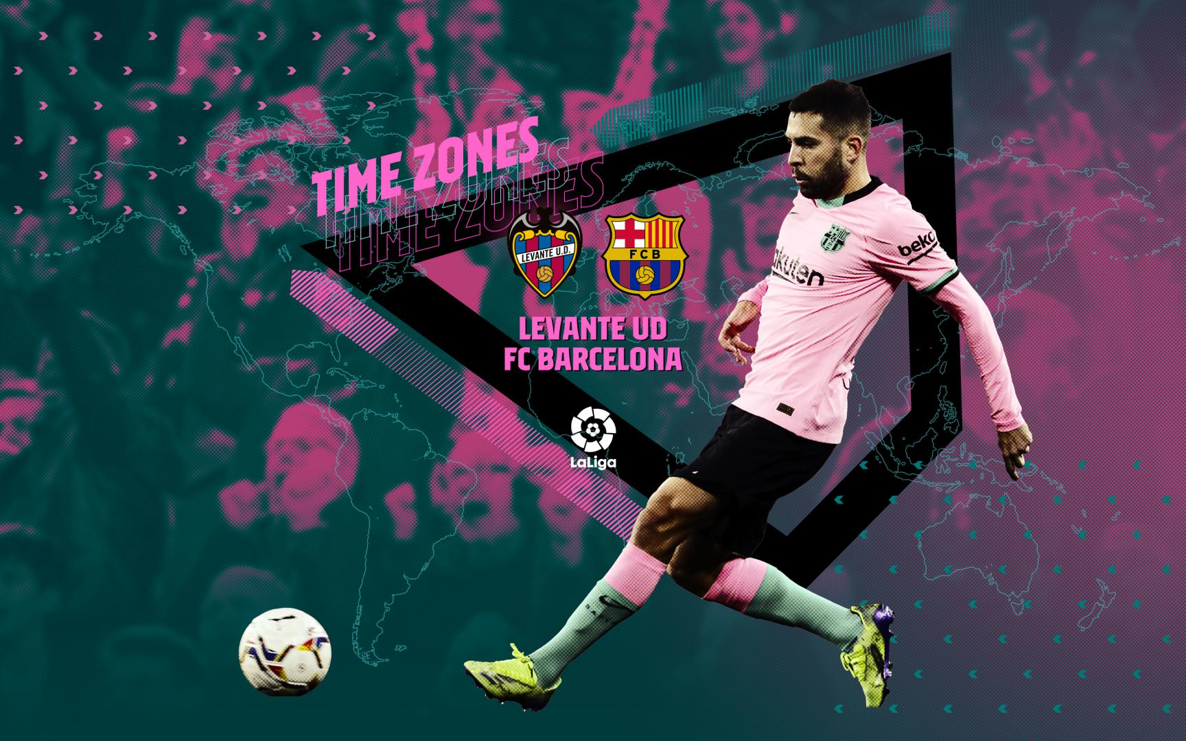 When and where can you watch the Levante match against Barcelona?
