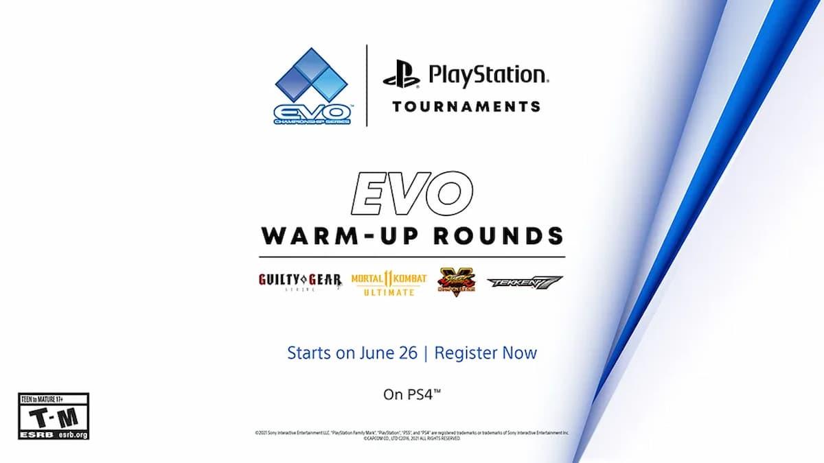 PlayStation Evo 2021 Tournaments Online Warm-up Tournament