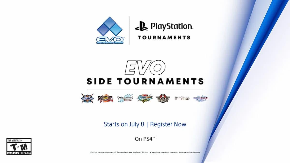 PlayStation Evo 2021 tournaments online