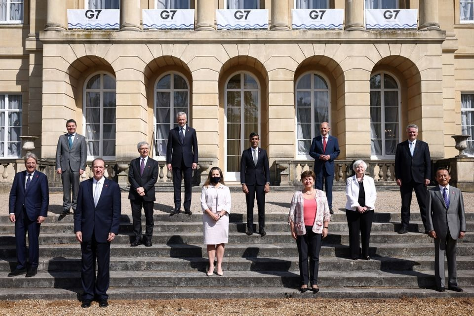 G7 reaches agreement to raise taxes on big tech companies