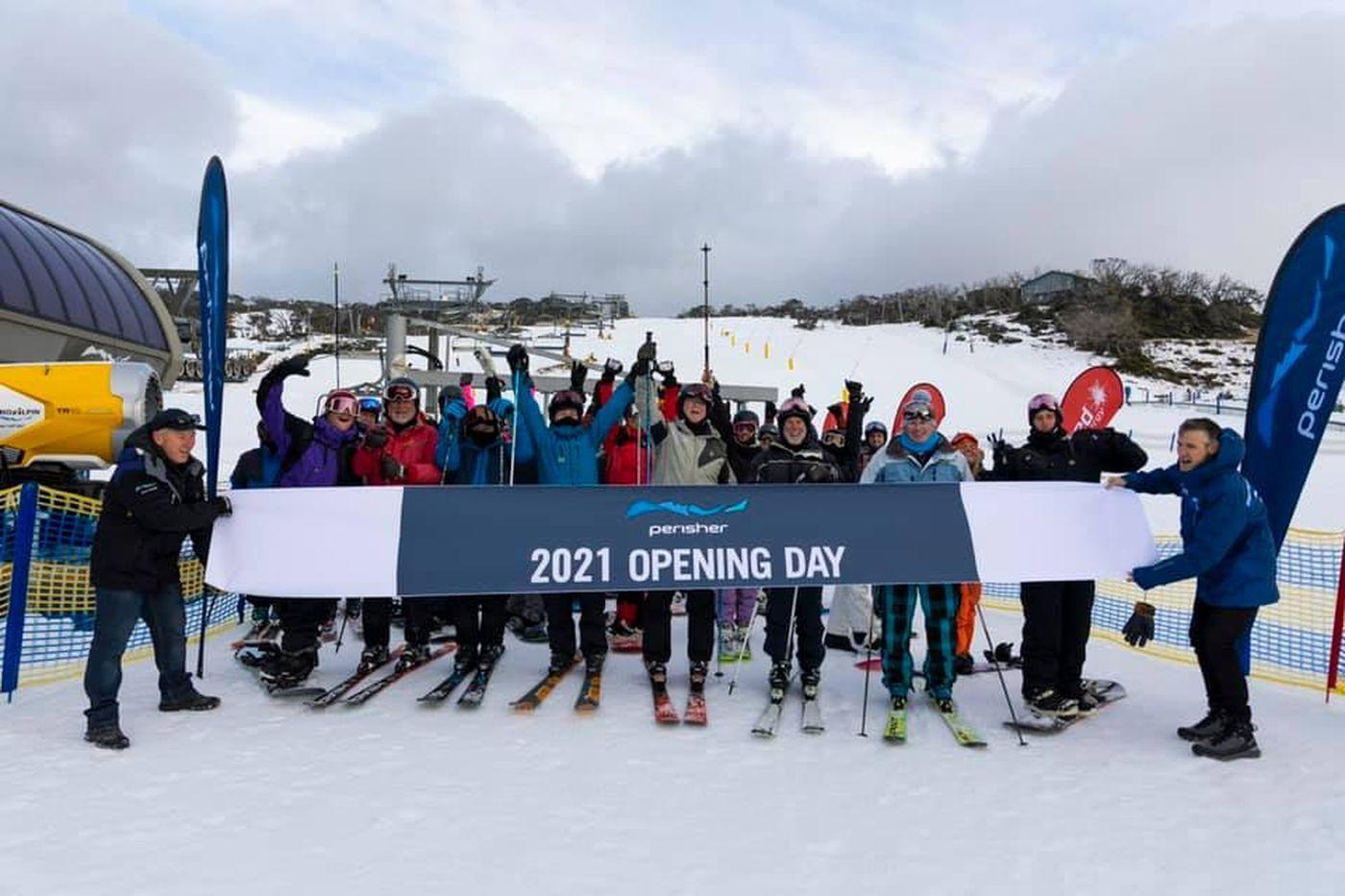 Australia has already opened its own ski season