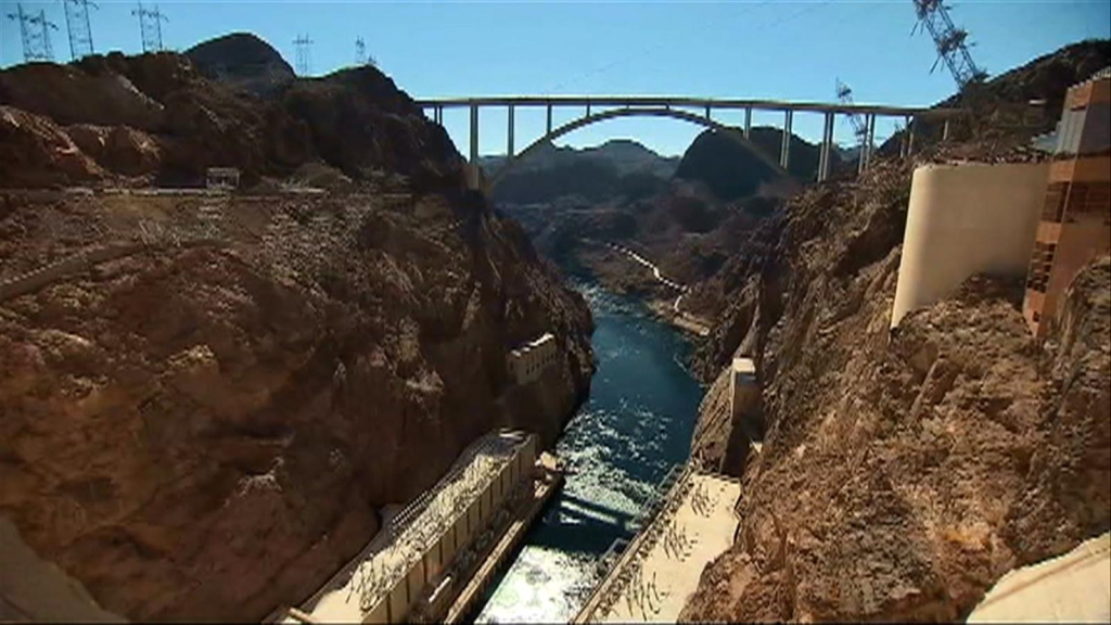 Hoover Dam is at its lowest water level