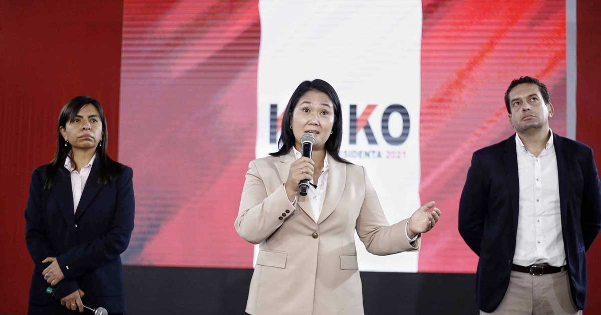Peru demanded the arrest of right-wing candidate Keiko Fujimori.  The daughter of the former dictator towards defeat in the popular vote