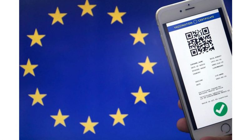 Green Pass Eu, the document will be checked by individual activity managers