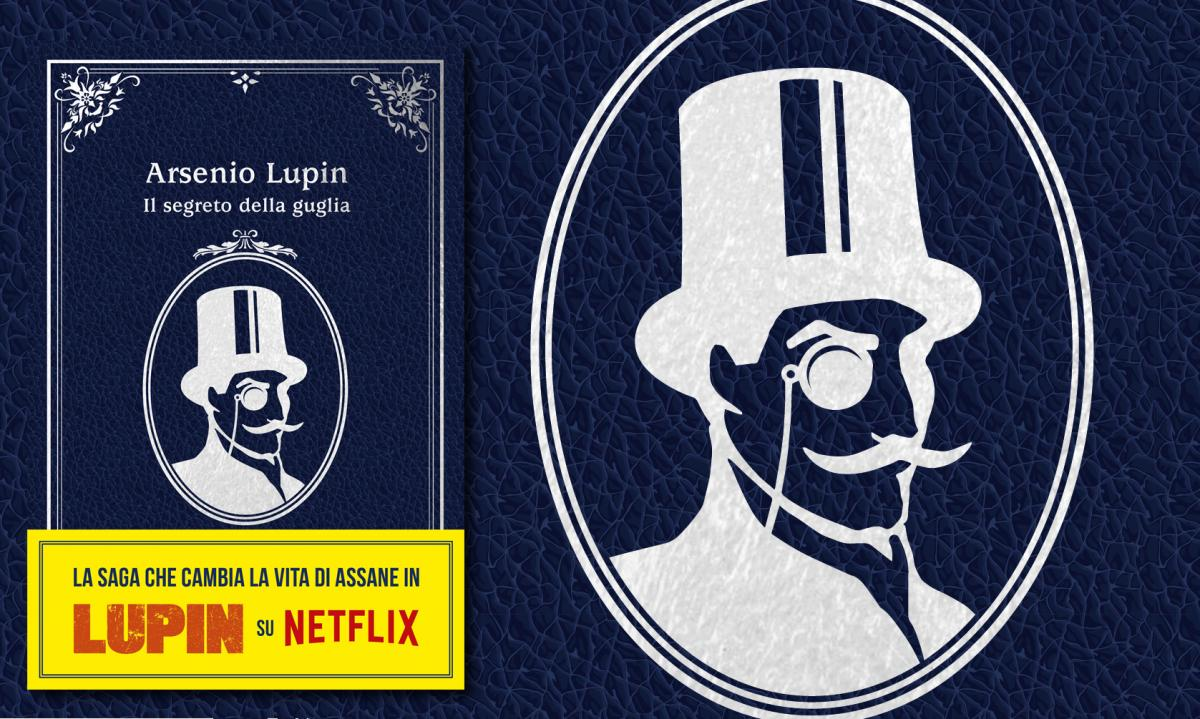 Lupine, the second official novel in the Netflix series right now