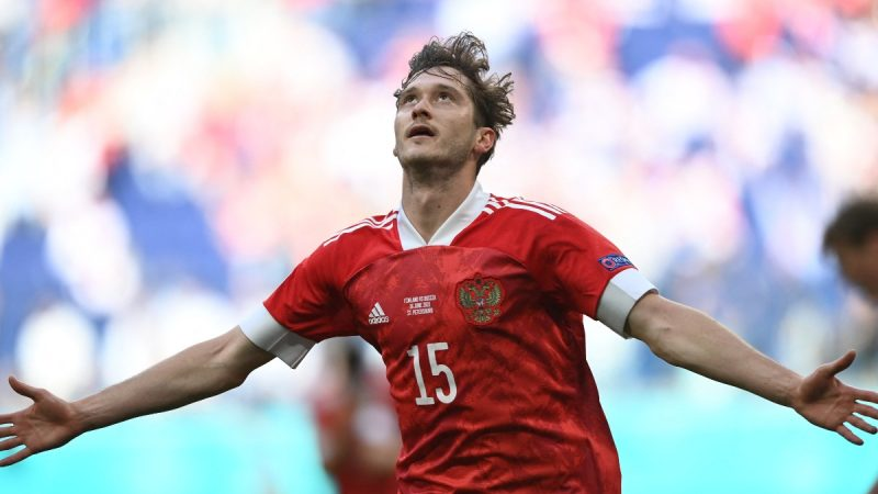 Russia salutes Finland and defeats Finland in Euro 2020