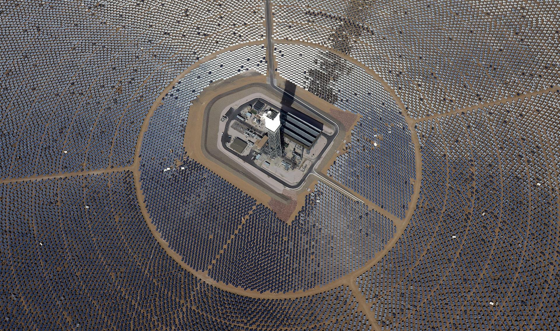Renewable energy, new 350 MW solar plant in California