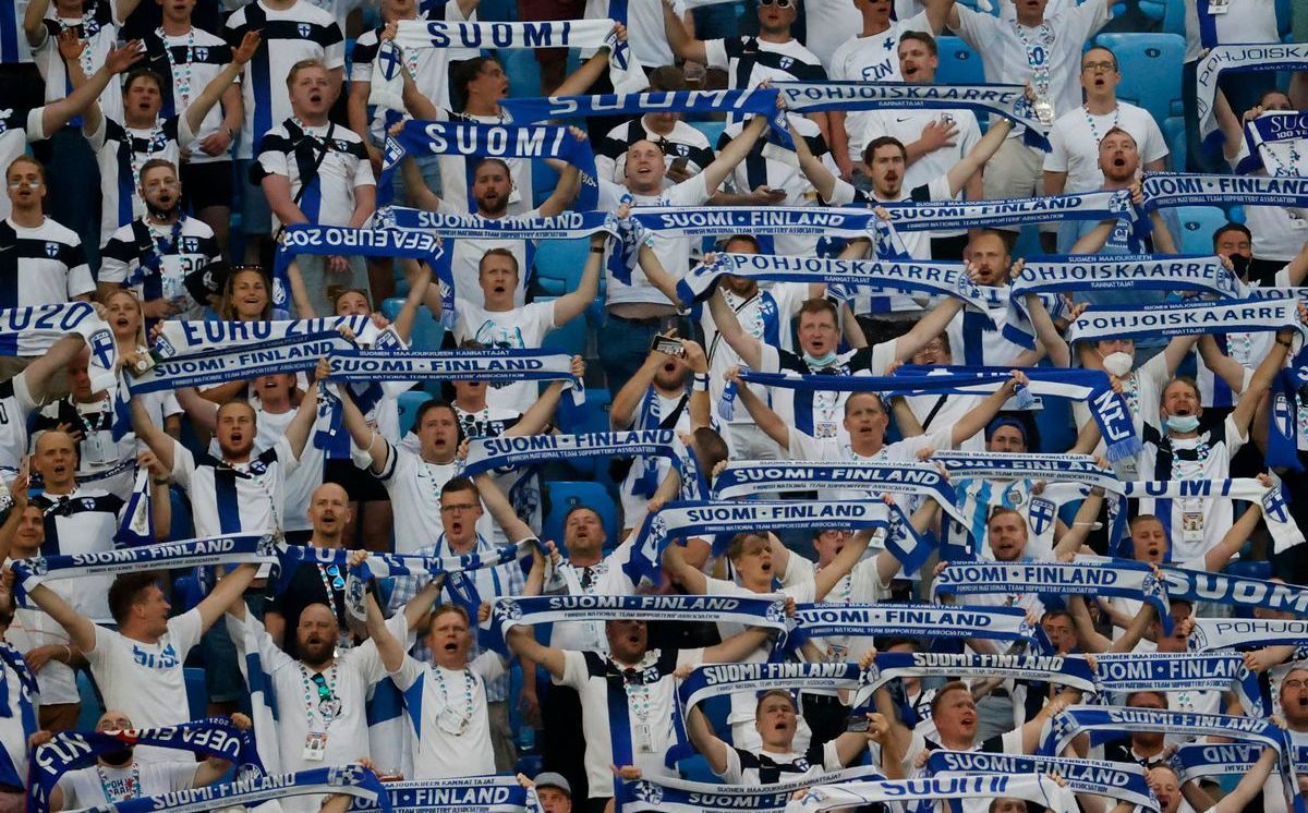 80 Finnish fans test positive for covid-19 after the European Championships