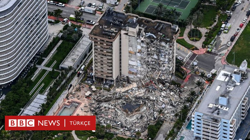 Destroyed a 12-storey apartment in Miami, 99 people living in the building can not be heard