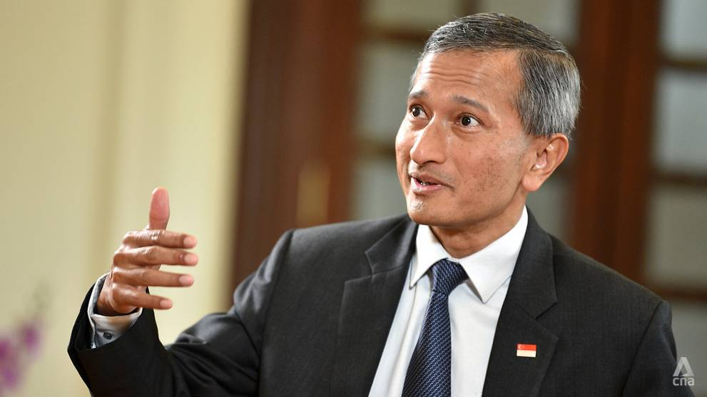 Foreign Minister Vivian Balakrishnan visits Italy and participates in the G20 meetings