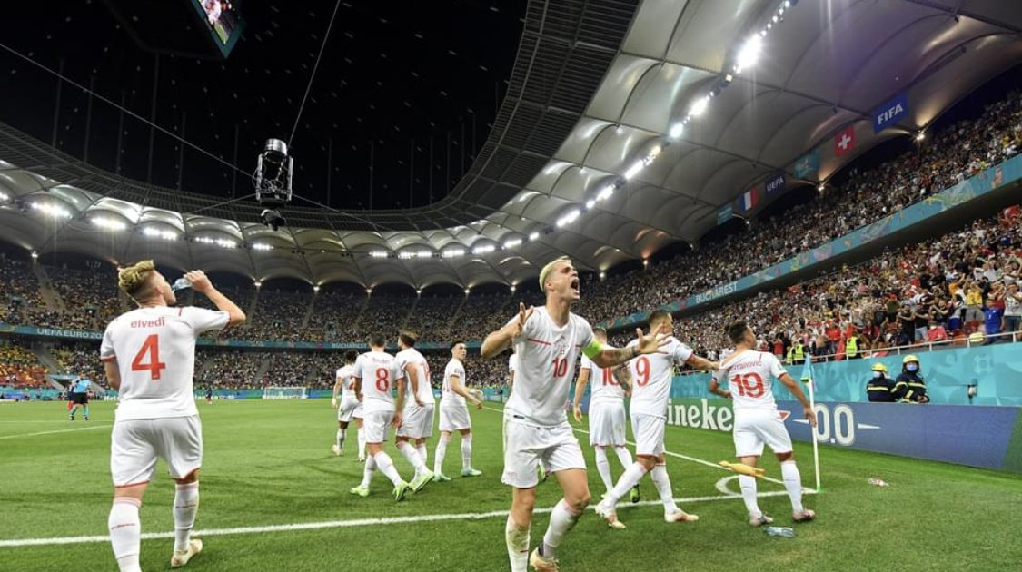 Switzerland defeats France on penalties