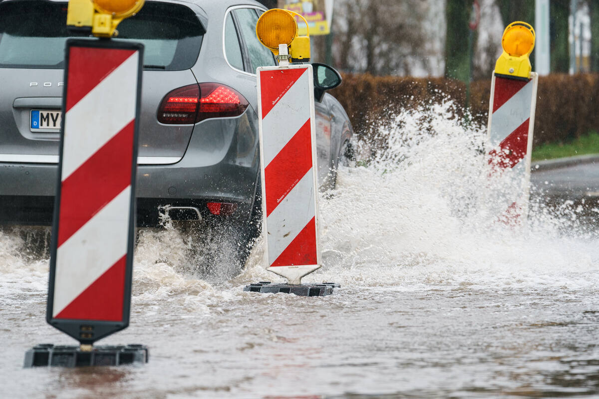Thunderstorms in the Aachen region: heavy rain flooded the basement