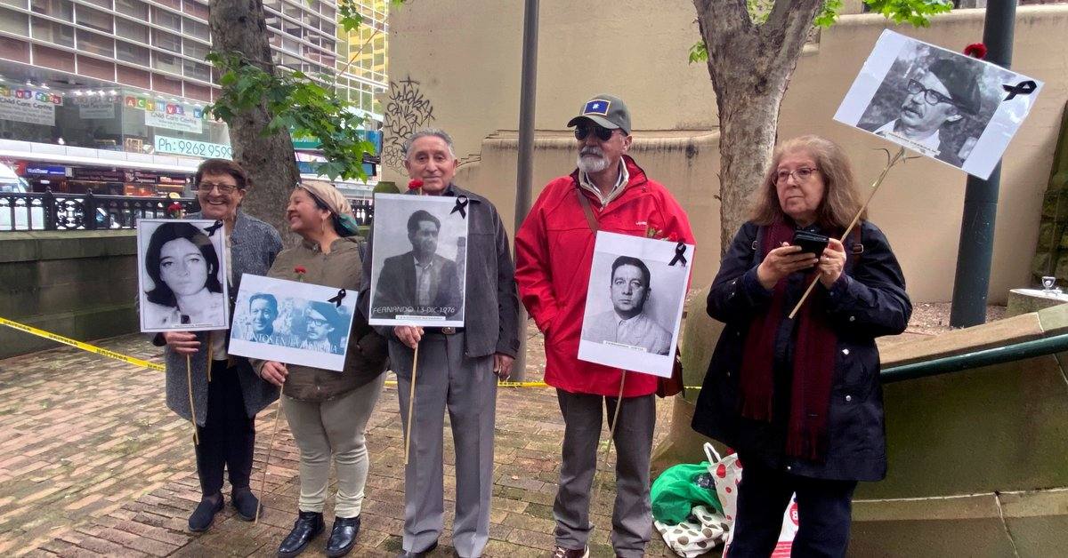 A court will decide whether to clarify Australia's role in the Chilean coup